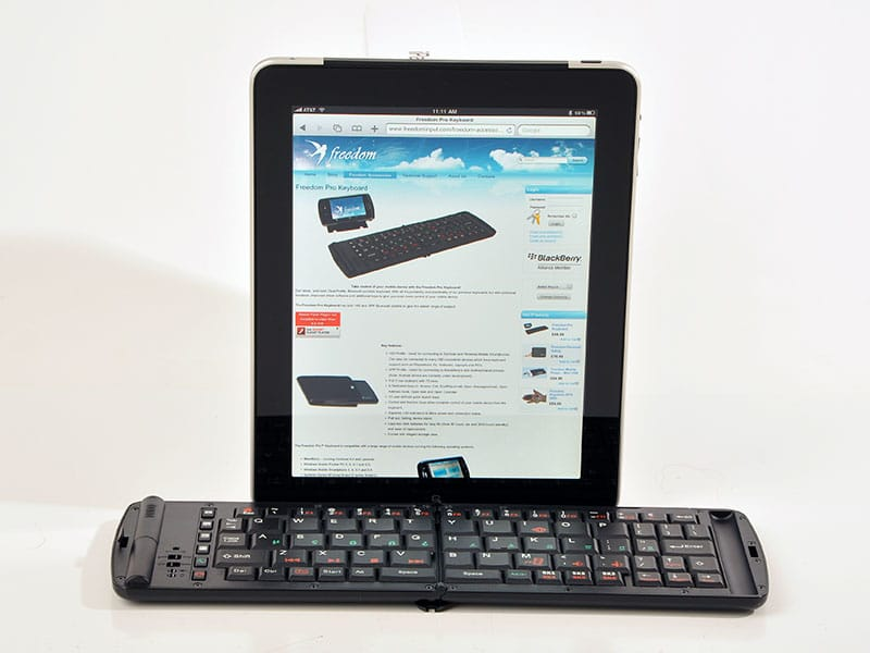Freedom pro keyboard for iPad