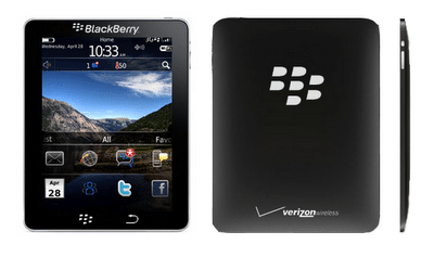 BlackPad the Blackberry Tablet