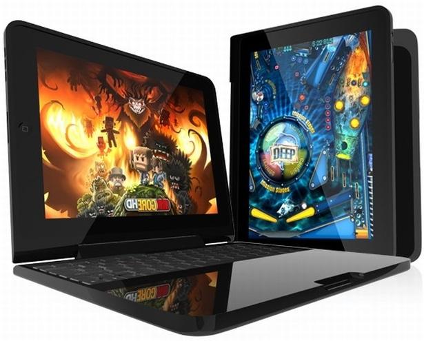 Clamcase transforms iPad to netbook