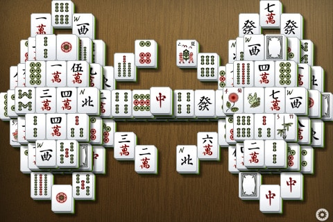 Shanghai Mahjong app for iPad