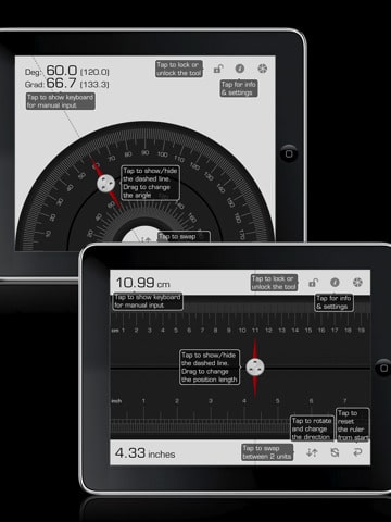multi measures HD for iPad