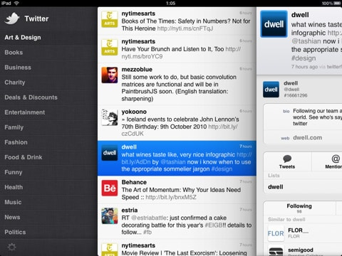 Download Twitter for iPad