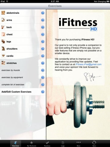 ifitness iPad app review