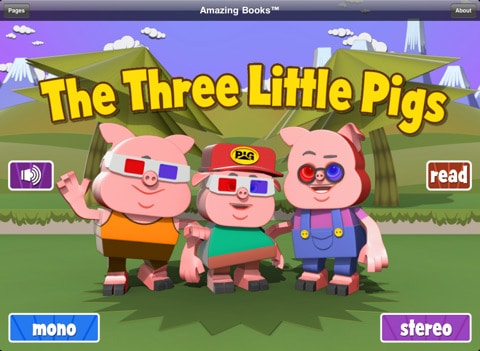 three little pigs iPad app review
