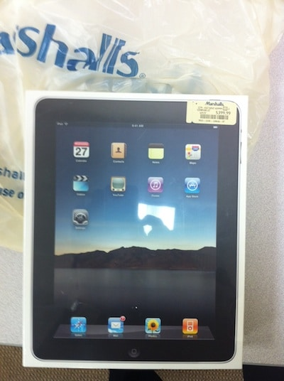 marshalls selling ipad for $399