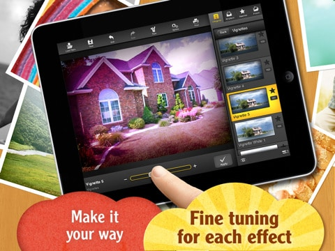 fx photo studio hd also helps users to share the images through social