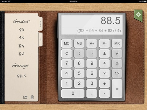 Calculator App Screenshot