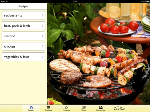 Great Backyard Grilling App Screenshot