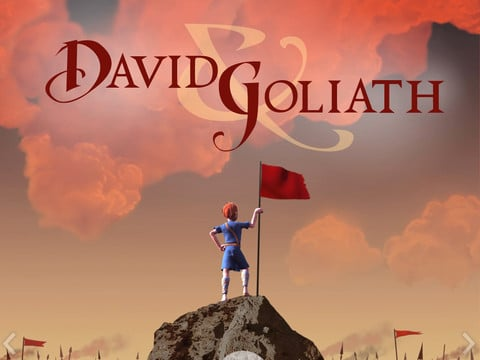 David and Goliath for the iPad (The MVP Edition)