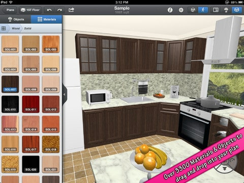 Design your dream home with interior design for ipad Interior design apps