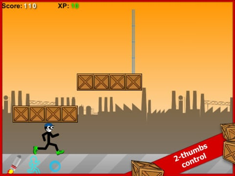 Stick Run Mobile-Entertainment app for iPad