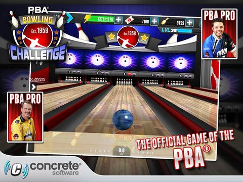 Action Bowling Game