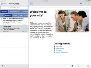 Filamente Office 365 for iPad
