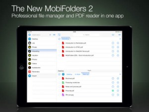 MobiFolders 2 for iPad