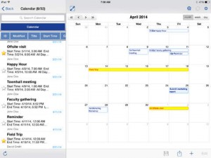 iPad Filamente Office 365 App