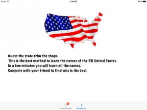 iPad iStatesHD App