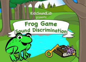 Frog Game School for iPad