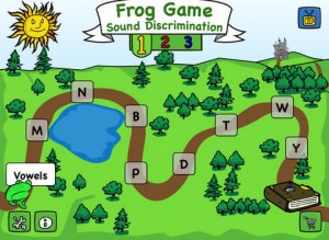 Frog Game iPad App for Kids