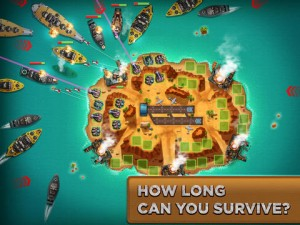 iPad Island Defense HD App