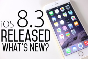 Beta Release of iOS 8.3
