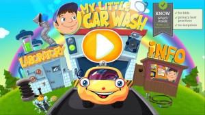 Car and Garage Wash Game for Kids