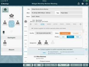 Meetings Organizing Tool App